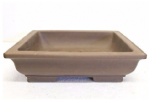 Bonsai Pot, Rectangle, 30cm, Brown, Unglazed